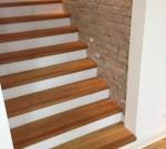 Treppe Mit Massiven Eiche Kanten